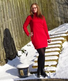 Nina Lee Southbank dress. Love the shape of this dress and looks nice and warm for winter.