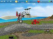 Daca stiti de abilitatile lui Super Mario in sarituri si trecerea de obstacole sa stiti ca e la fel de bun si la sariturile cu motocicleta. Universul jocului este cel din jocul original Super Mario dar atentia care i sa dat la obstacole a fost superficiala. Online Games, Golf Courses, Bicycle, Motorcycle, Super Mario, 2d, Bike, Bicycle Kick, Bicycles