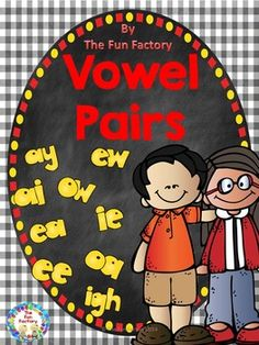 $Vowel Pairs Help your students decode words in context and in isolation by applying common letter-sound correspondences, to these vowel digraphs oo as in foot, oo as in moon, ea as in eat, ea as in bread, ee, ow as in how, ow as in snow, ou as in out, ay, ai, aw, ew, oa, ie as in chief, ie as in die, and –igh. Each vowel pair has 3 different activities in this phonics unit.