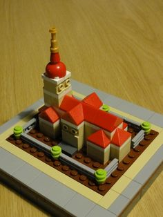 Cathedral: A LEGO® creation by Gerrit Buys : MOCpages.com Awesome Mini-Build!