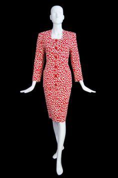 Patrick Kelly Vintage Leopard Suit