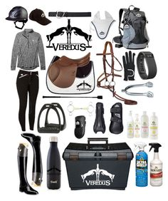"""""""veredus themed rootd"""" by a-circuit-equestrian on Polyvore featuring Under Armour, Allegri Milano, S'well, Fitbit, women's clothing, women, female, woman, misses and juniors"""