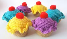 A personal favourite from my Etsy shop https://www.etsy.com/uk/listing/278959088/crochet-amigurumi-cupcake-pincushion-3