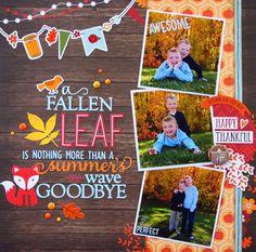 A Fallen Leaf... - Scrapbook.com