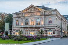 Head to the elegant spa town of Baden-Baden in Germany. You'll discover opulence, stunning architecture, hot springs & even have a flutter on red or black. Baden Germany, Places Of Interest, Leiden, Hot Springs, Exploring, Theatre, Road Trip, Spa, Europe