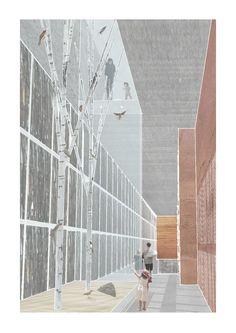 Design project for an elephant house at a regional safari park. -Oxpecker Nesting Tower- Simon Cadle