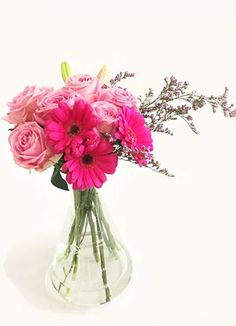 Cape Peninsula Flower & Gift Delivery for all occasions. Gift Delivery, Cape, Glass Vase, Flowers, Pink, Gifts, Decor, Mantle, Cabo