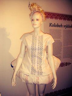 Lenka_Srsnova dress from perinka collection, emerging designer talent, folk inspired fashio