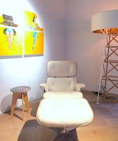 Interior in design lab Het Arsenaal | Studio Jan des Bouvrie | Eames chair | #interiordesign #studiojandesbouvrie #chair #design #inrichten2016 #wonen #luxurylife