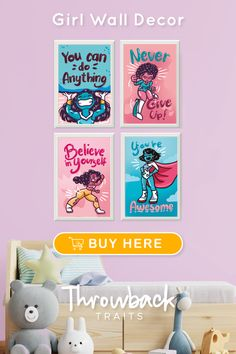 Posters for Teen Girls Room
