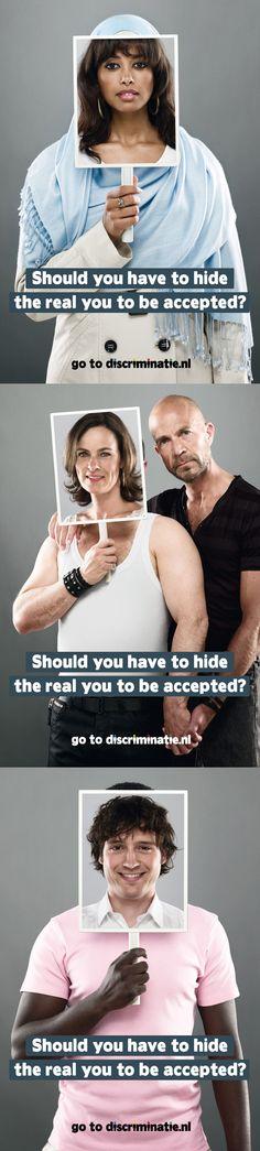 Anti-discrimination ads