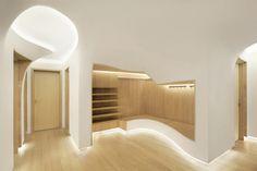 penda conceptualizes winter apartment as melting snow