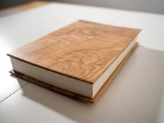 FREE Personalized wooden notebook wooden Journal by CutDesign