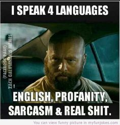 I speak 4 languages