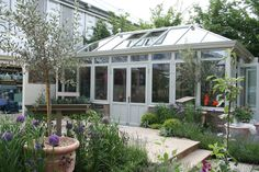 A conservatory - at Chelsea Flower Show