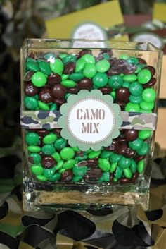So Cute Parties: Green Army Men Camo Party