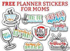 Mom Planner Stickers