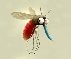 Currently browsing Mosquito for your design inspiration Cartoon Drawings, Animal Drawings, Cartoon Art, Cute Drawings, Character Art, Character Design, Whimsical Art, Funny Art, Metal Signs