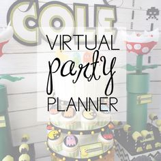 virtual party planning services from AmysPartyIdeas.com | Party Ideas & Sources delivered to your inbox | Planned specifically for your custom party ideas