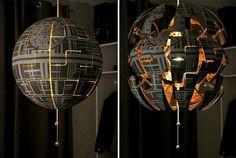 Ikea lamp turned Death Star