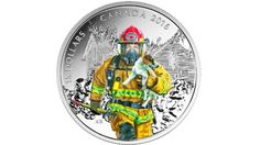 The new collection features firefighters, paramedics, police and the military on a series of silver coins.