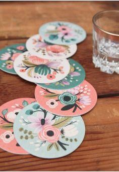 Botanical Coaster Set By Rifle Paper Co.