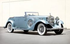 1934 Rolls-Royce Phantom II Continental All-Weather Tourer