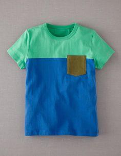 Colourblock T-shirt @ miniboden Little Boy Outfits, Little Boy Fashion, Toddler Fashion, Kids Outfits, Kids Fashion, Boys Closet, Kids Wardrobe, Mini Boden, Boys T Shirts