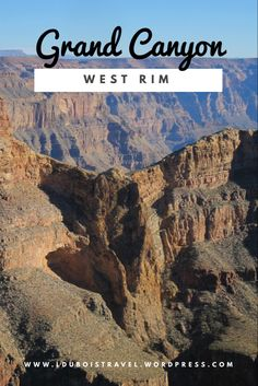 Check out the Eagle Rock formation, Skywalk and more at the Grand Canyon West Rim. This trip can easily be taken from Las Vegas. Grand Canyon West Rim, Grand Canyon Tours, Grand Canyon Arizona, Usa Travel Guide, Travel Guides, Tourist Trap, Bus Travel, Us National Parks, United States Travel