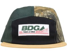 Hike 5-Panel Hat by BODEGA 08f2e4417ed7