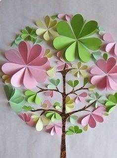 New Origami Blumen Basteln 33 Ideas New Origami Flowers Crafting 33 Ideas Kids Crafts, Diy And Crafts, Arts And Crafts, Paper Crafts, Creative Crafts, Flower Crafts, Diy Flowers, 3d Paper Flowers, Paper Trees