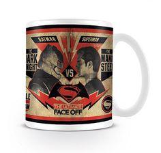 Batman vs Superman Tasse Fight. Hier bei www.closeup.de