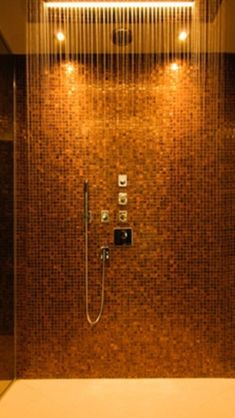 Gorgeous shower.