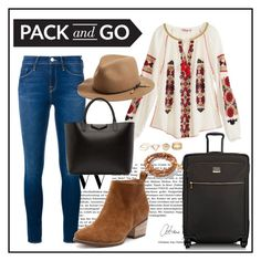 """""""Pack and Go: Mexico"""" by veronika235 ❤ liked on Polyvore featuring Calypso St. Barth, Frame Denim, rag & bone, Givenchy, Tumi and Henri Bendel"""