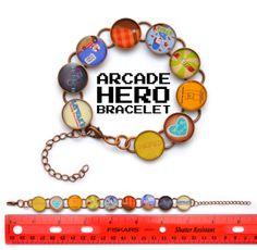 Wreck-It Ralph Inspired Bracelet - $10.00