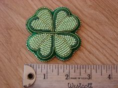 Limited Edition Four Leaf Clover Brooches