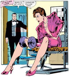 Lois pumps by John Byrne.