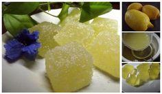 Domáce citrónové cukríky