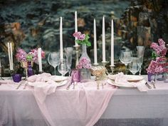 Romantic tables cape from an oceanside destination wedding inspiration shoot