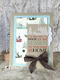 Cozy Christmas, Home for Christmas- Stampin' Up! - StampinByTheSea.com