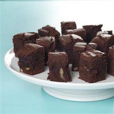 Ja disse brownies er gode