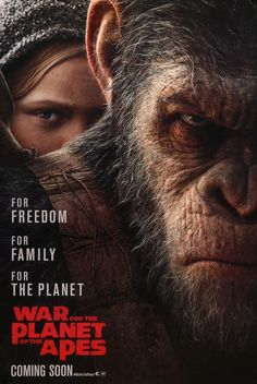 War for the Planet of the Apes (2017) Original One Sheet Movie Poster