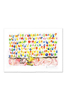 """""""Tweet Tweet"""" Limited Edition Hand Pulled Original Lithograph on Paper"""