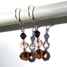 Sendai - earrings / korvakorut Sendai, Bead Jewelry, Glass Beads, Ceiling Lights, Earrings, Design, Decor, Beaded Jewelry, Ear Rings