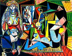 Women of Algiers - Picasso (It just recently fetched a whopping $179.4 million—the most ever paid for a work of art at auction).