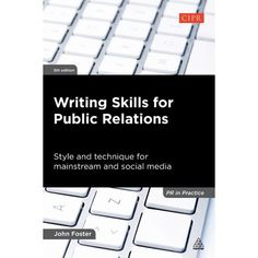 Rev. ed. of: Effective writing skills for public relations. 4th ed. c2008. This fully updated fifth edition is a hands-on, practical guide to writing style for PR students and practitioners. Offering advice on the basic principles of grammar as well as covering essential editing and presentation skills, Writing Skills for Public Relations includes guidance on: -- developing and policing a house style -- avoiding clichs and jargon -- ensuring readability -- writing press releases -- using social Online Newsletter, Presentation Skills, Press Release Distribution, Writing Styles, Writing Practice, Public Speaking, Media Center, Public Relations, Grammar