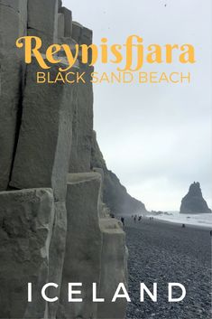 Guide and tips for visiting Reynisfjara: The Black Sand Beach in Iceland with kids