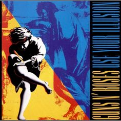 Albums Revisited: Guns N' Roses 'Use Your Illusion' Turns a re-examination of GNR's overstuffed 1991 double album opus on its anniversary. Guns And Roses, Rock N Roll, Psych, Use Your Illusion I, Greatest Album Covers, Fanart, Pochette Album, Great Albums, Rock Legends