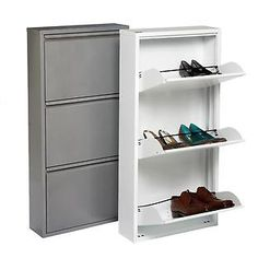 julieannkrystyniak's save of The Container Store > 3-Drawer Shoe Cabinet on Wanelo $119