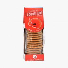 Biscuits au coquelicot de Nemours - Les Deux Gourmands